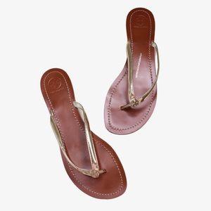 Tory Burch Terra Thong Leather Sandal